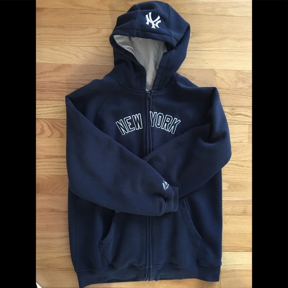 outlet store 70e54 793bf New York Yankees Hoodie Zip Up!